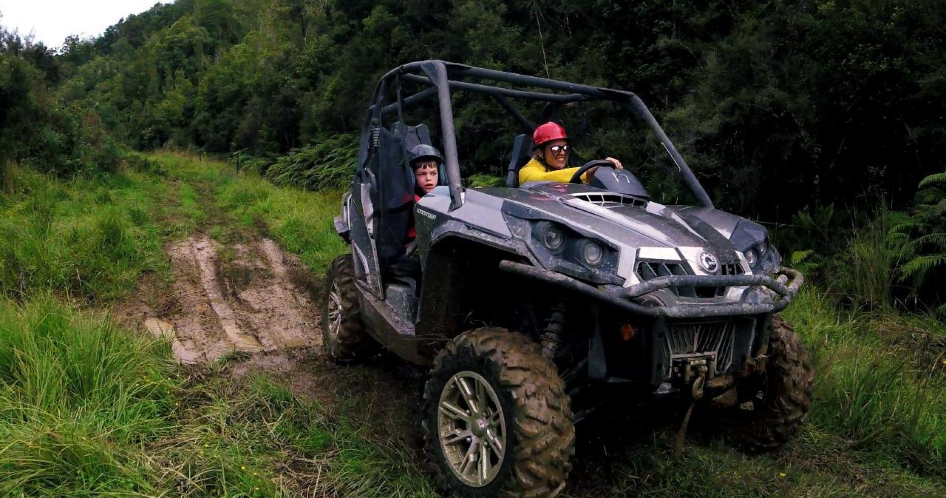 Mud Track Buggy Adventure for Three in New Zealand