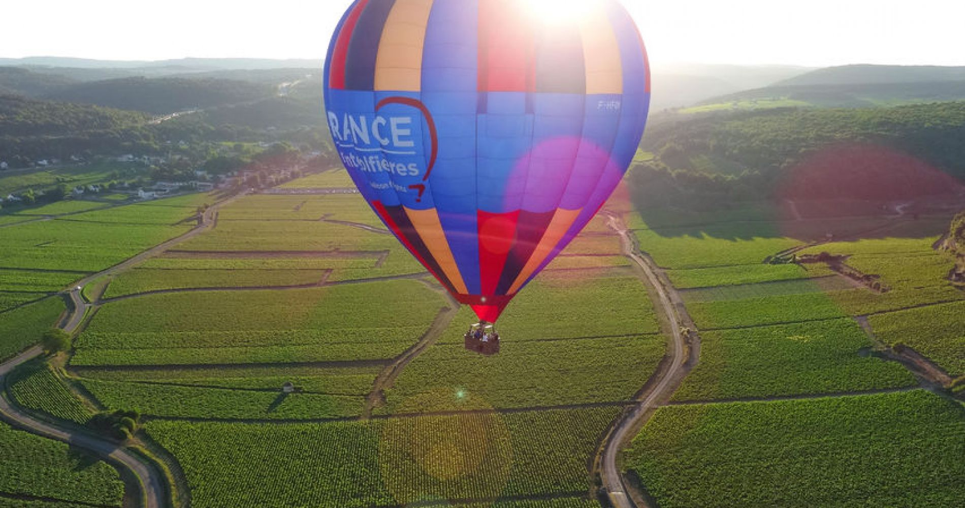 Hot Air Balloon Ride in Beaune