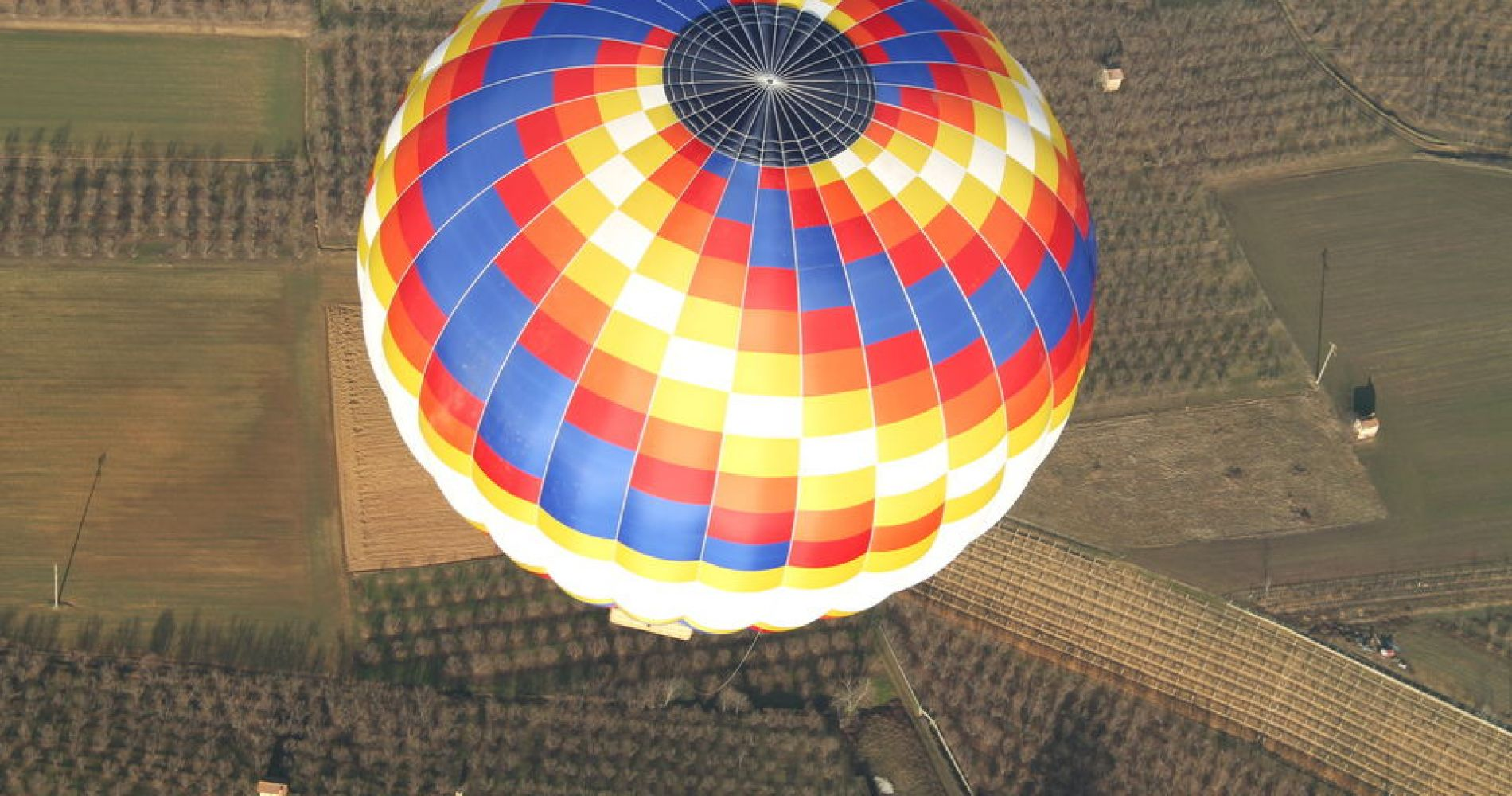 Hot Air Balloon Flight over Turin and Langhe from Carru