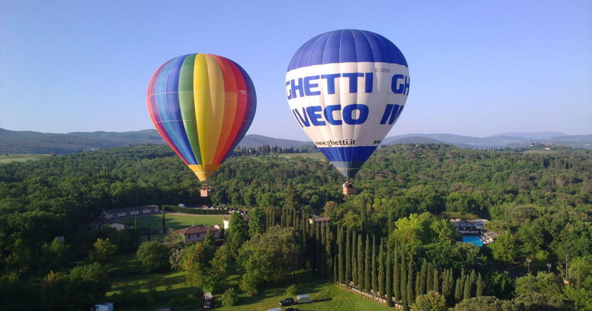 Hot Air Balloon Flights in Lombardy