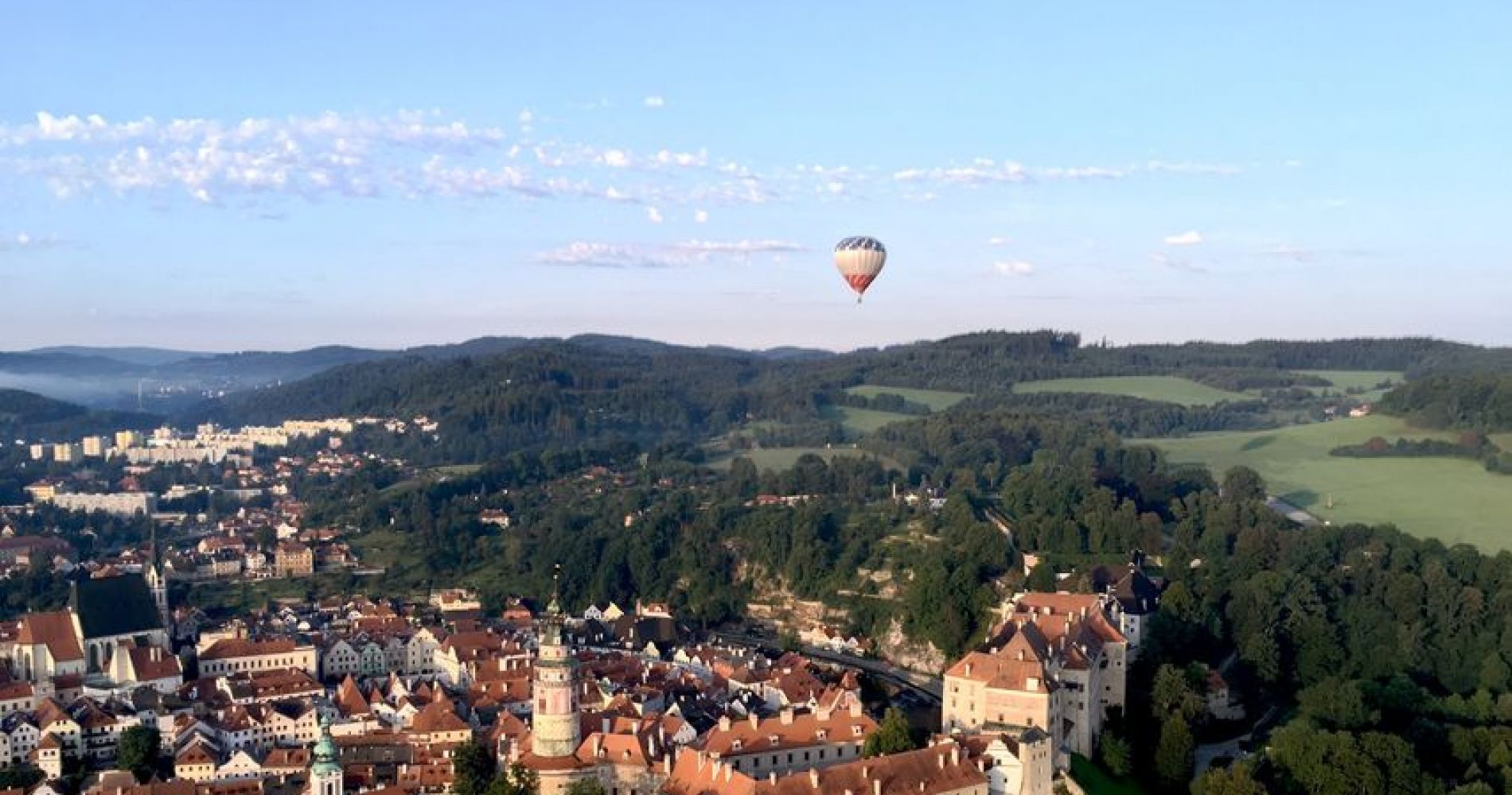 Prague Hot Air Balloon Tour