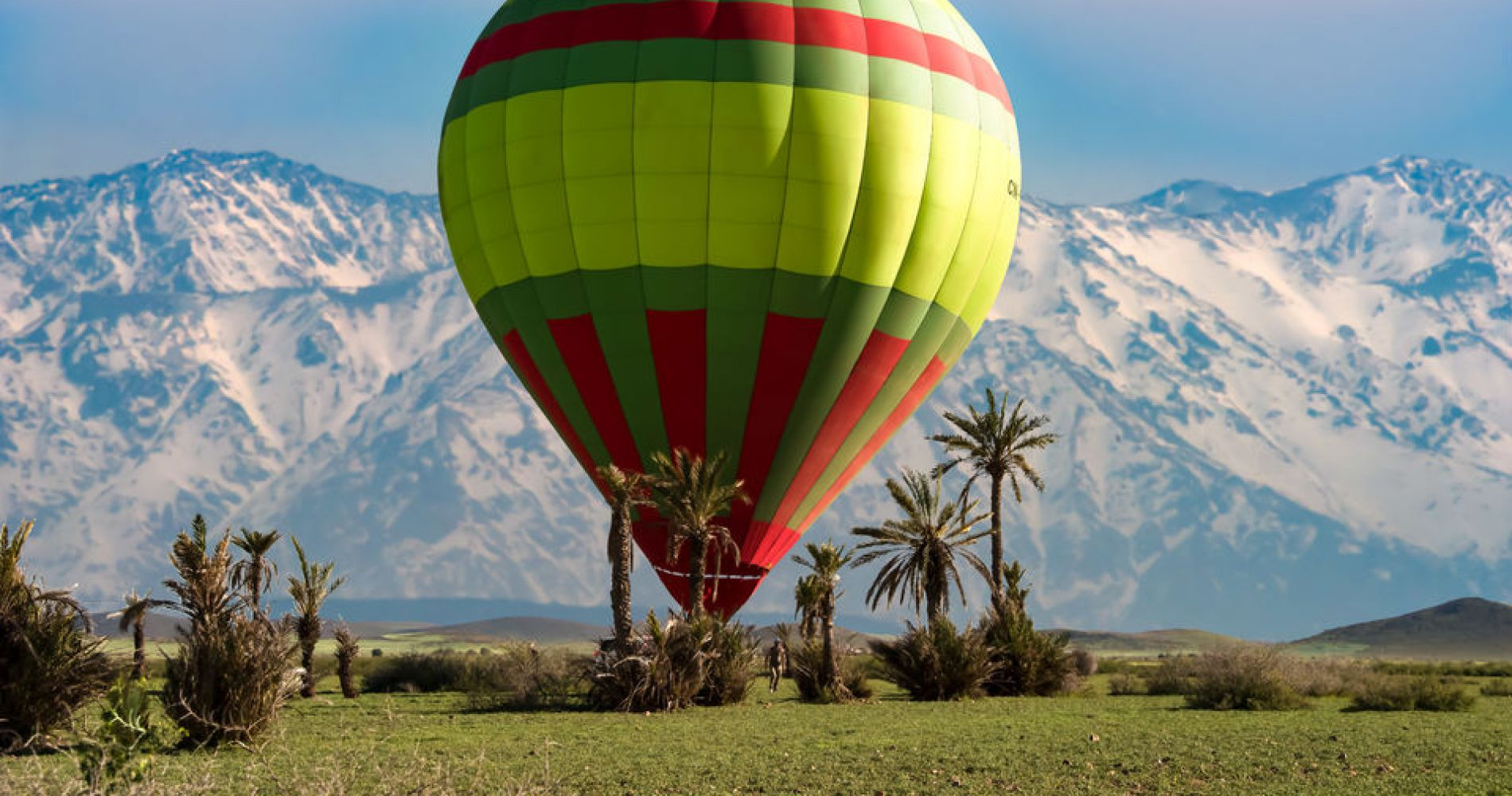 Classic Ballooning Flight over Marrakech & Camel Ride