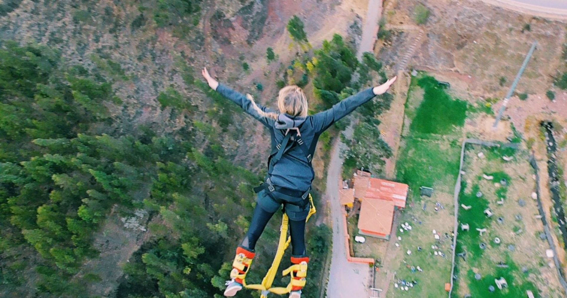 Bungee jumping from Poroy-Cusco for Two