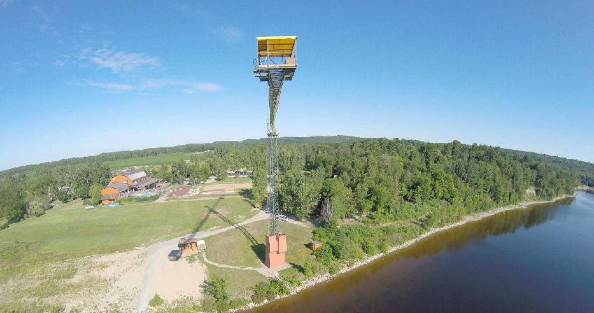 150 ft of pure free fall bungee in Ontario for Two