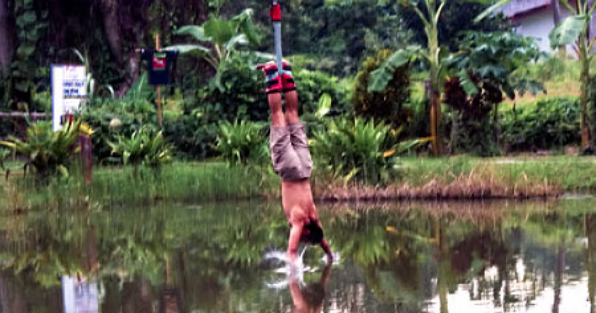 Jungle Bungee Jump for Two in Thailand