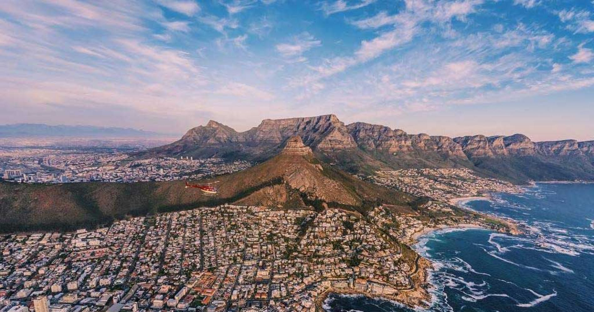 Helicopter Flight from Cape Town