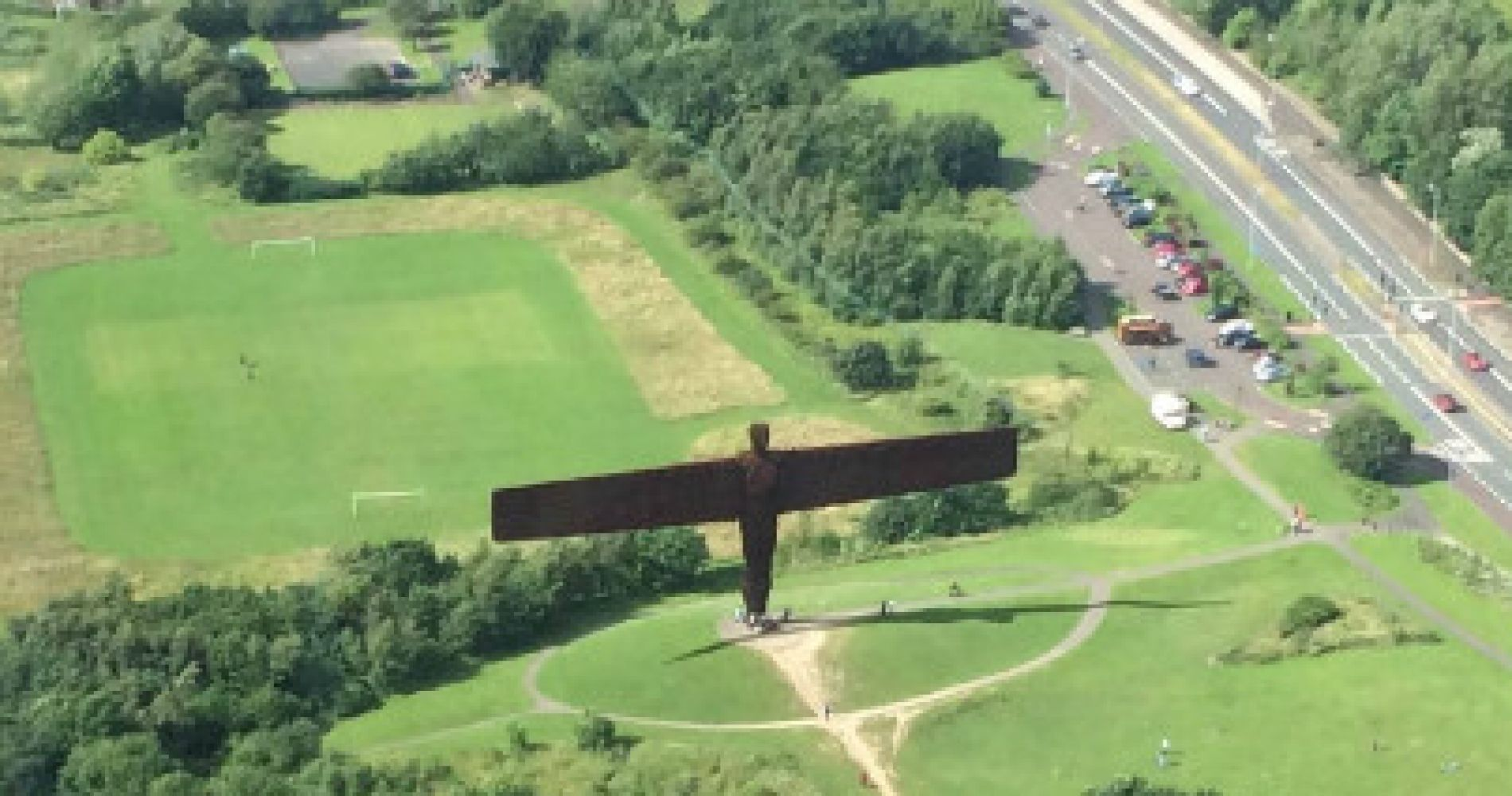 Extended Newcastle City & Angel of the North Tour for Two
