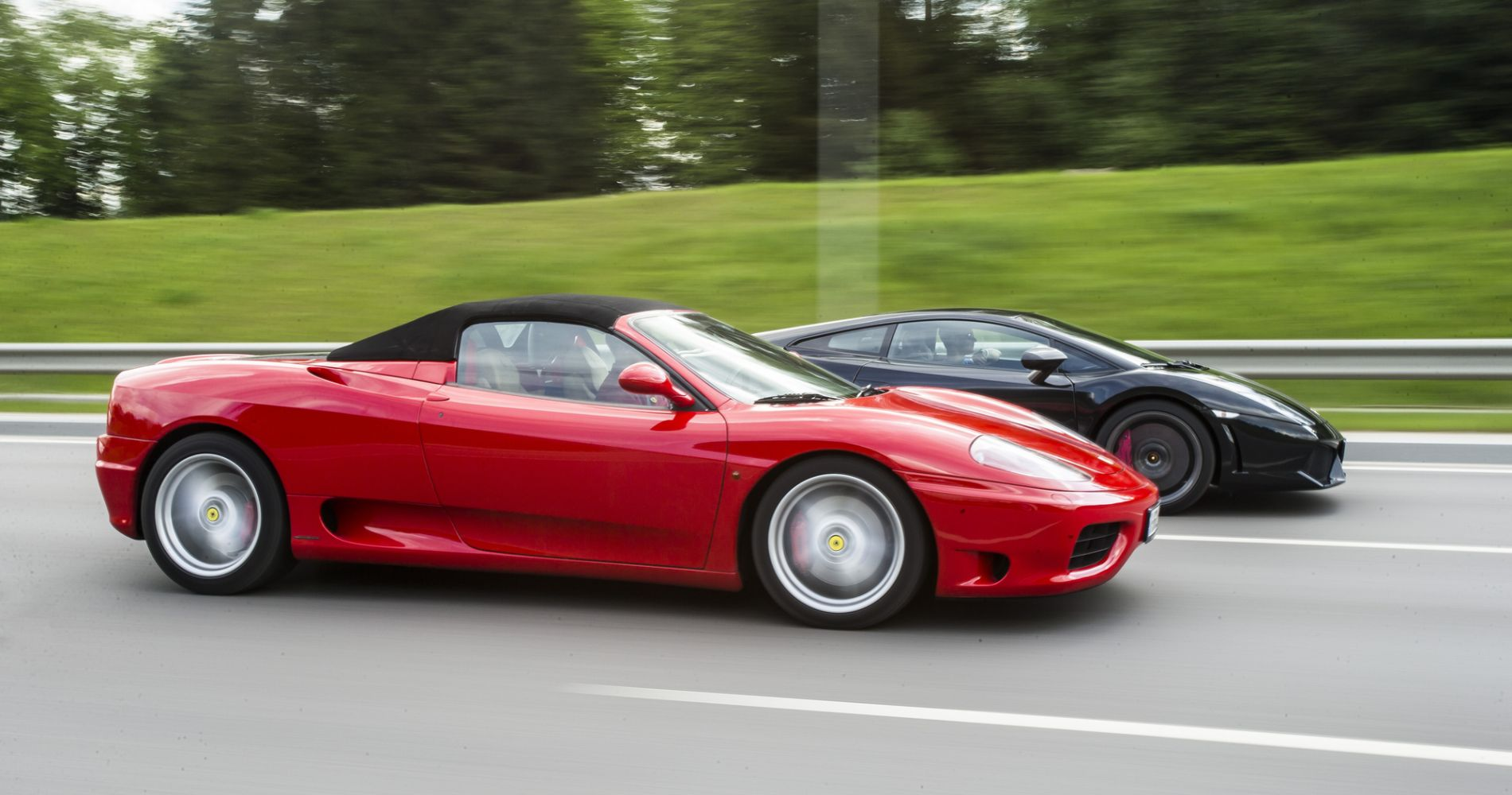 Ferrari and Lamborghini Driving Experience in Lithuania