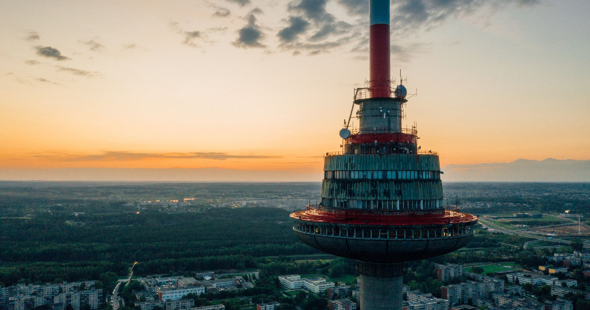 Dinner at Vilnius TV Tower for Two