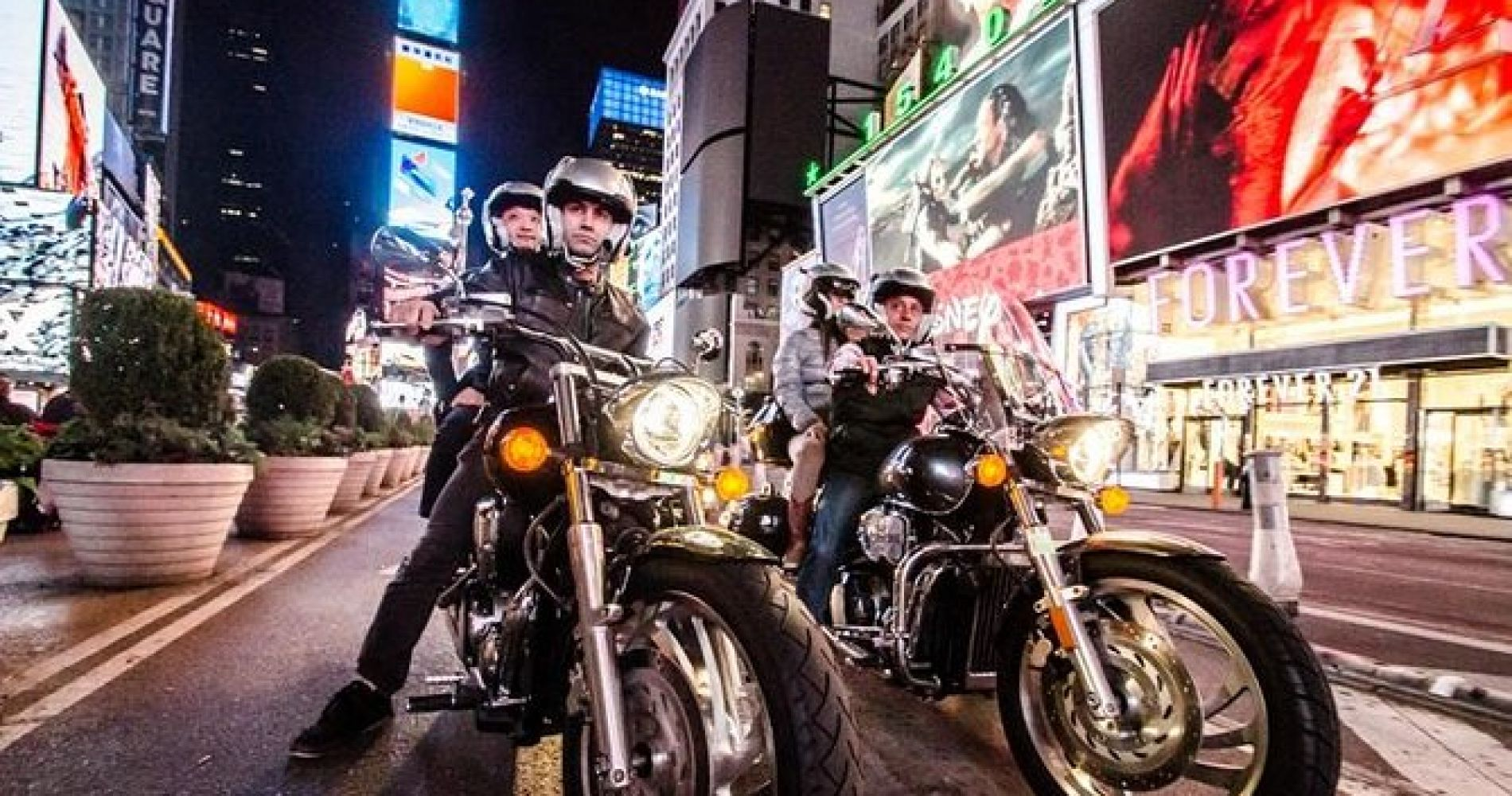 Private Motorcycle Sightseeing Tour of Downtown Manhattan