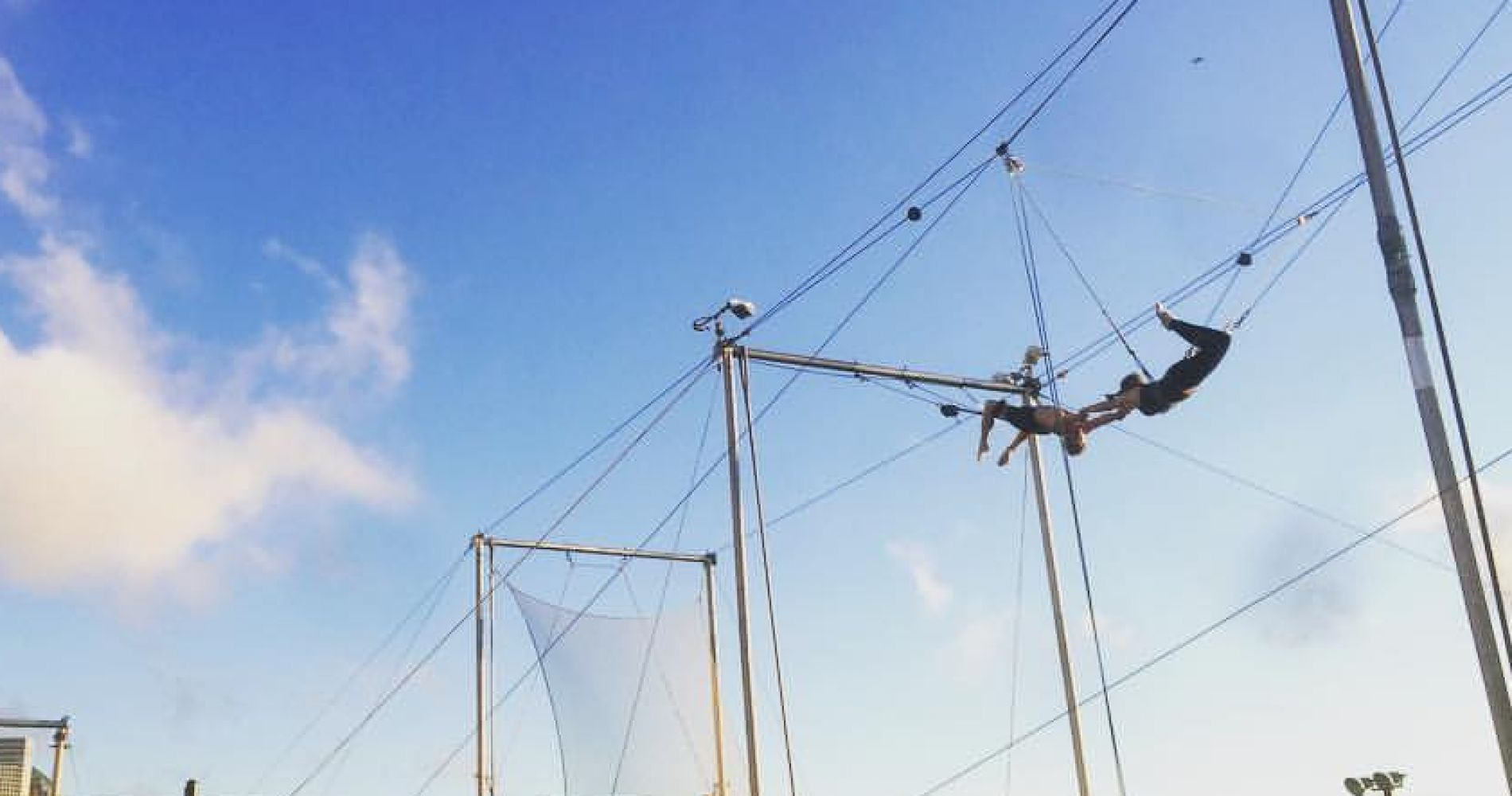Flying Trapeze Class for Three