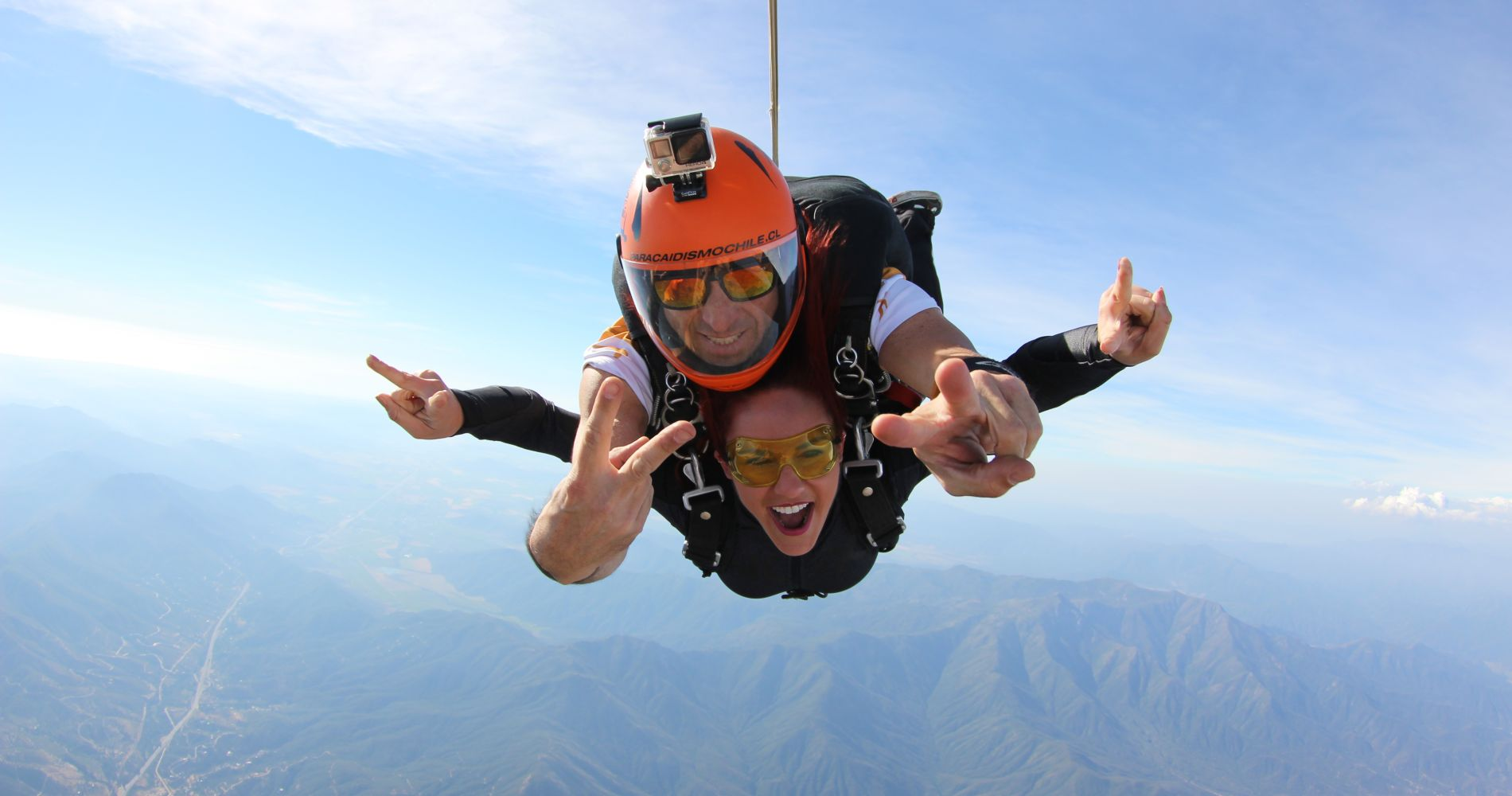 Tandem Jump in Chile