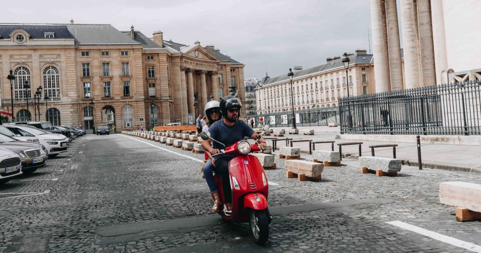 Paris Highlights Tour by Vespa Scooter for Two