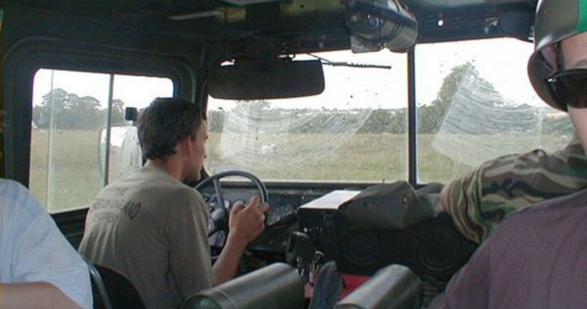 Dads and Lads Tank driving for Four in United Kingdom