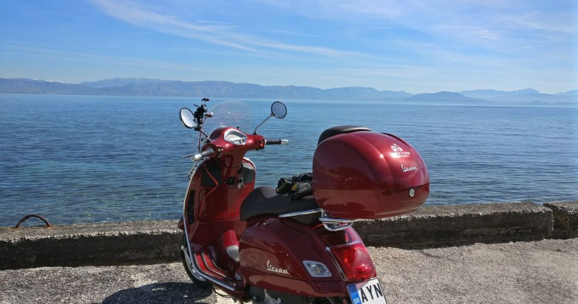 Scooter Riding Tour in Corfu for Four