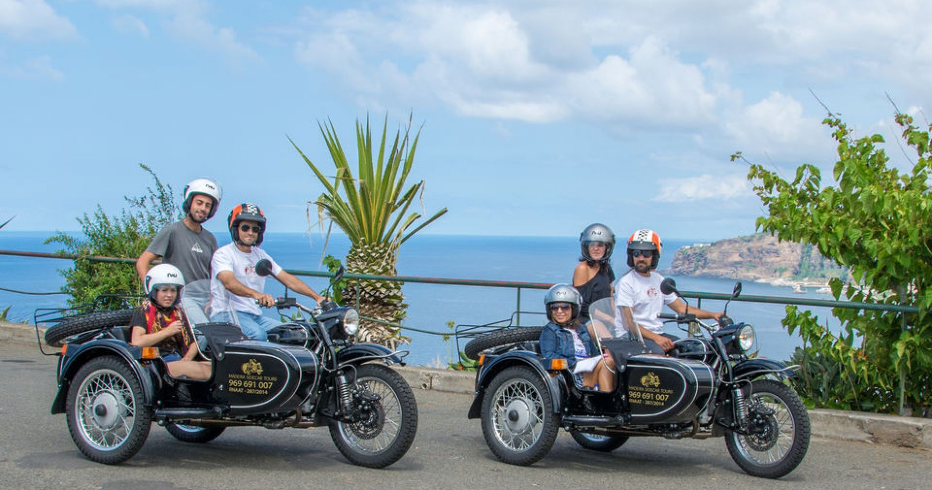 Madeira Island: 3-Hour Old Road Tour by Sidecar for Four