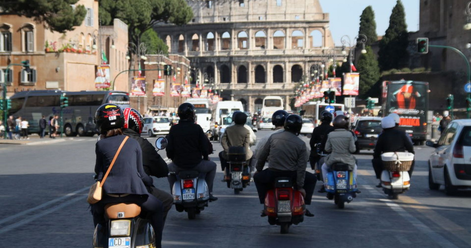 Half-Day Vespa Tour in Rome for Two