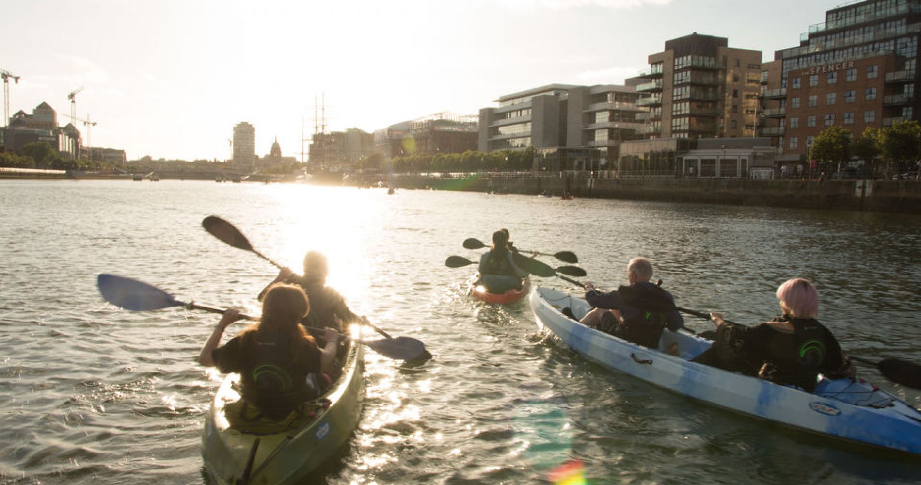 Kayaking Adventure in Dublin for Two