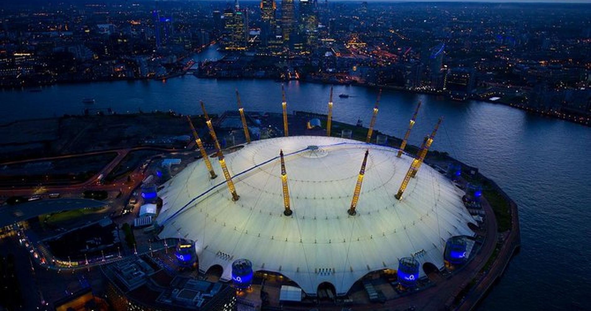 Up at The O2 Climb in London for Two