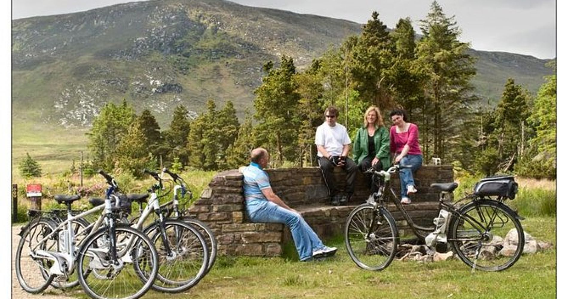 Bangor Trail Electric Bike Experience from Westport