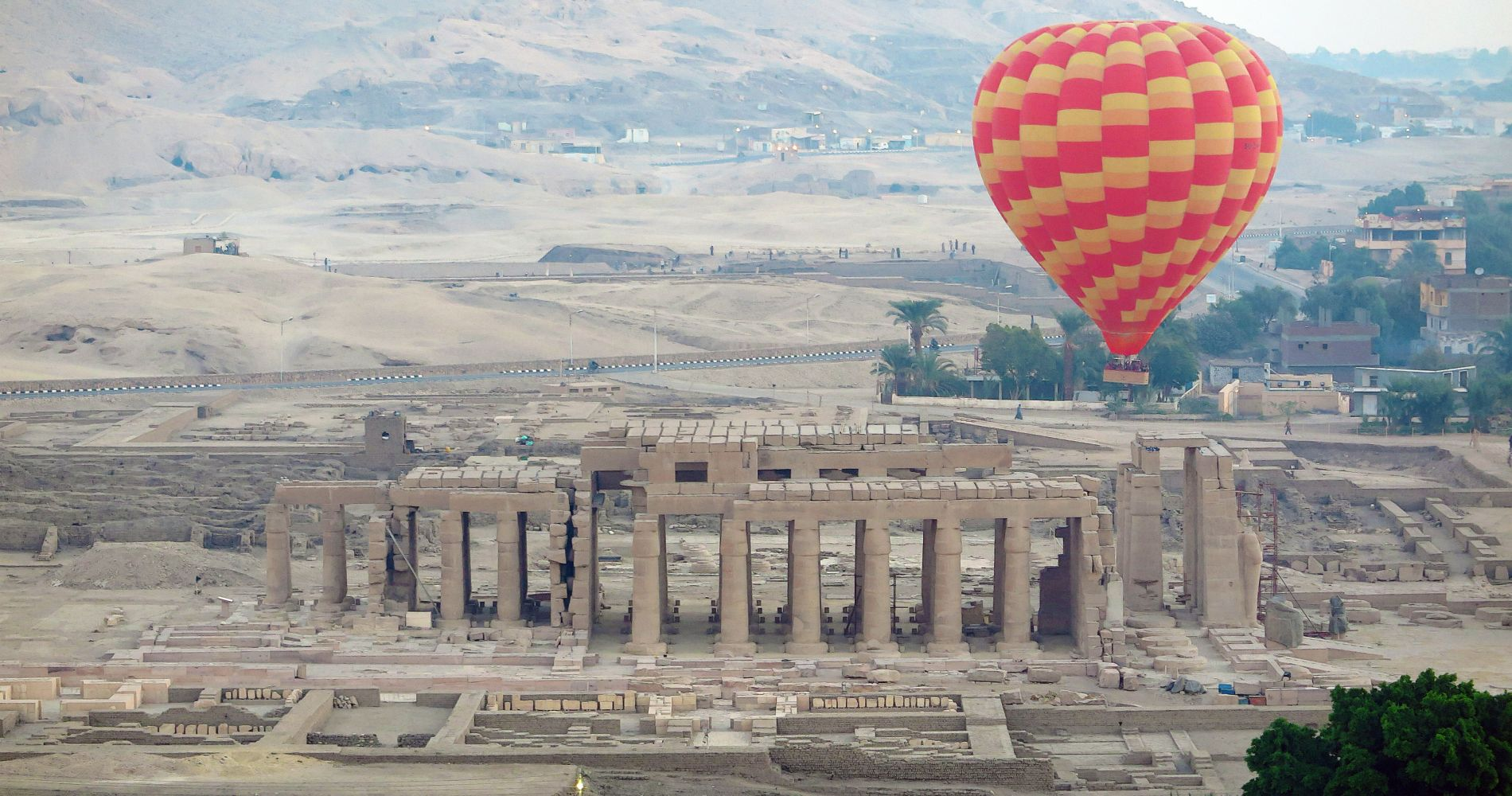 Luxor Hot Air Balloon Ride at Sunrise