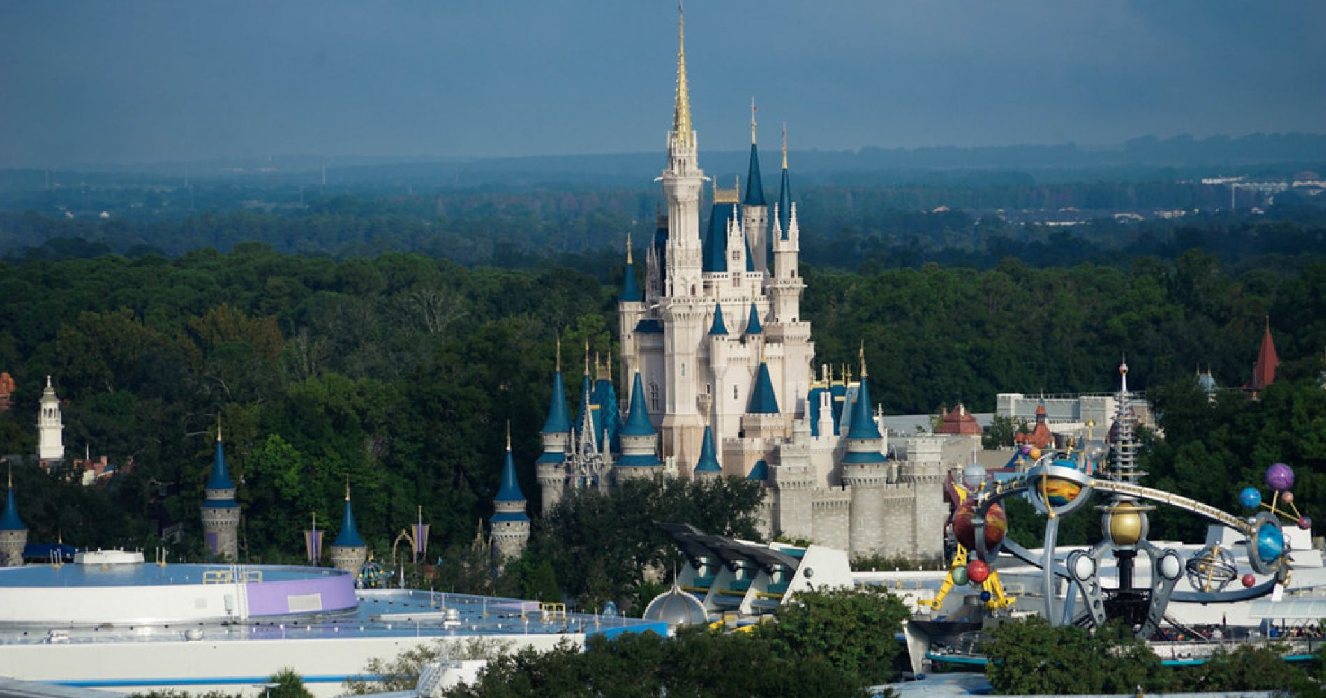 Orlando Helicopter Ride over Theme Parks for Two