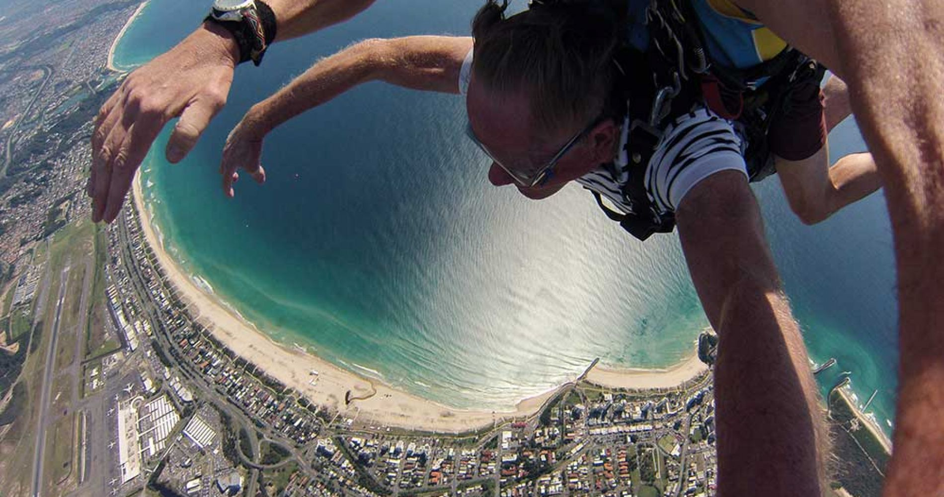 Tandem skydive in Golden Coast