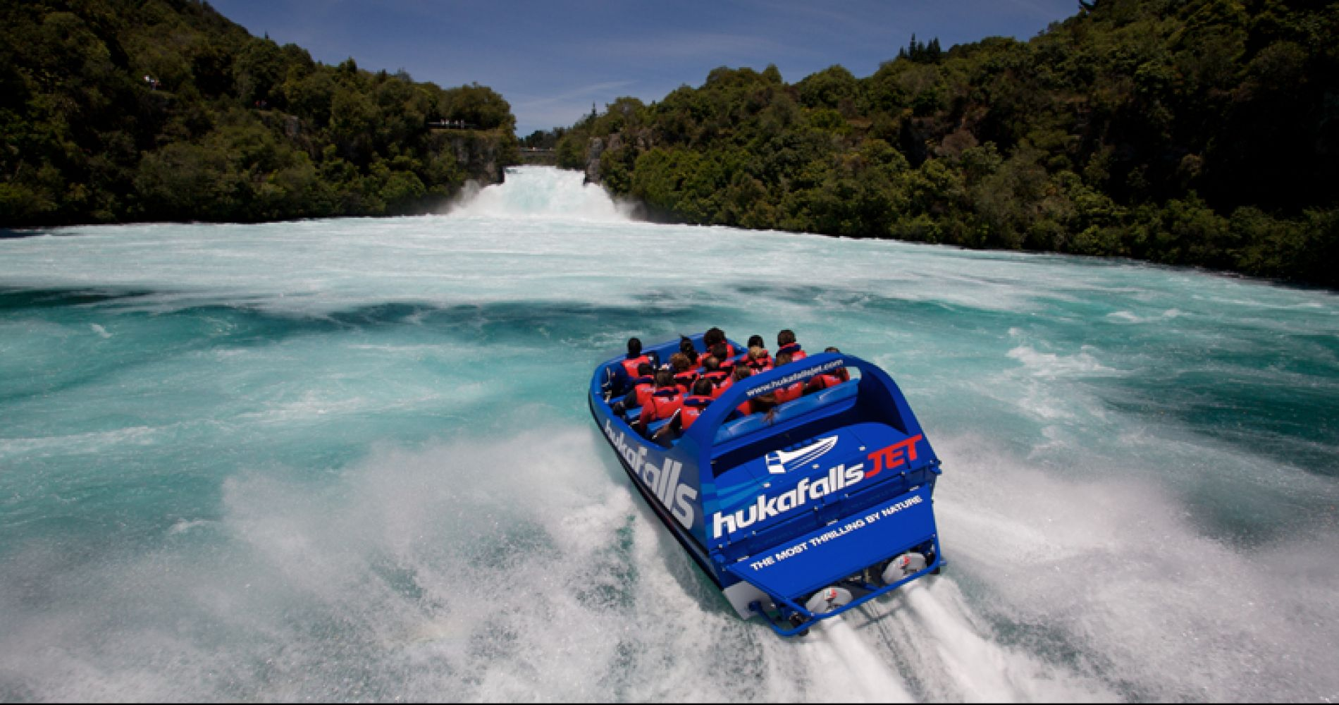 Hukafalls Jet Boat Experience for Two