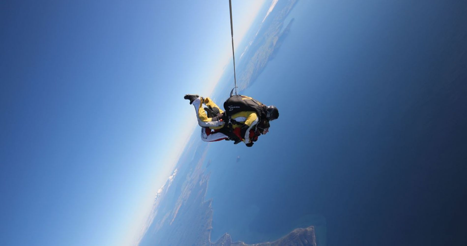 Extreme Hukafalls Jet and Taupo Tandem Skydiving combo