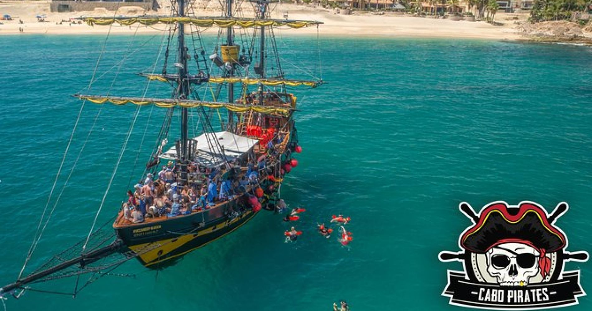 Family Treasure Hunt and Lunch Cruise in Cabo San Lucas
