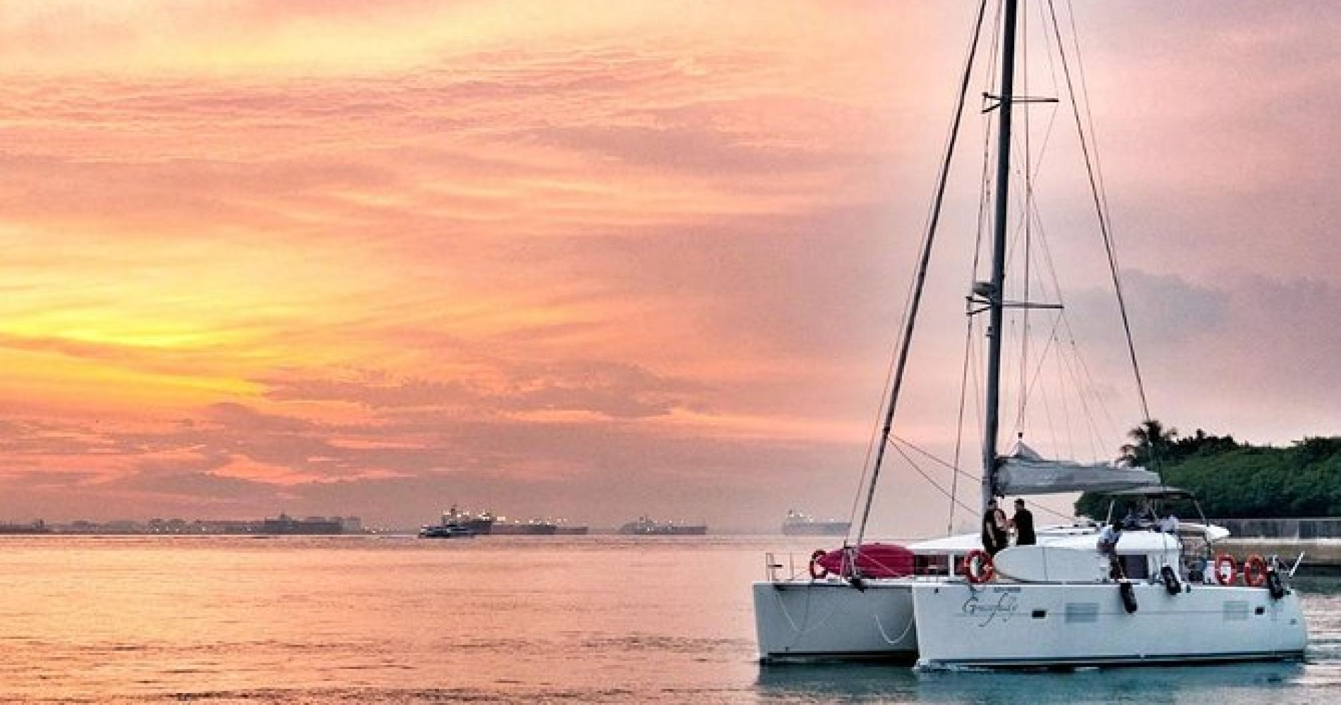 Singapore Catamaran Sunset Cruise