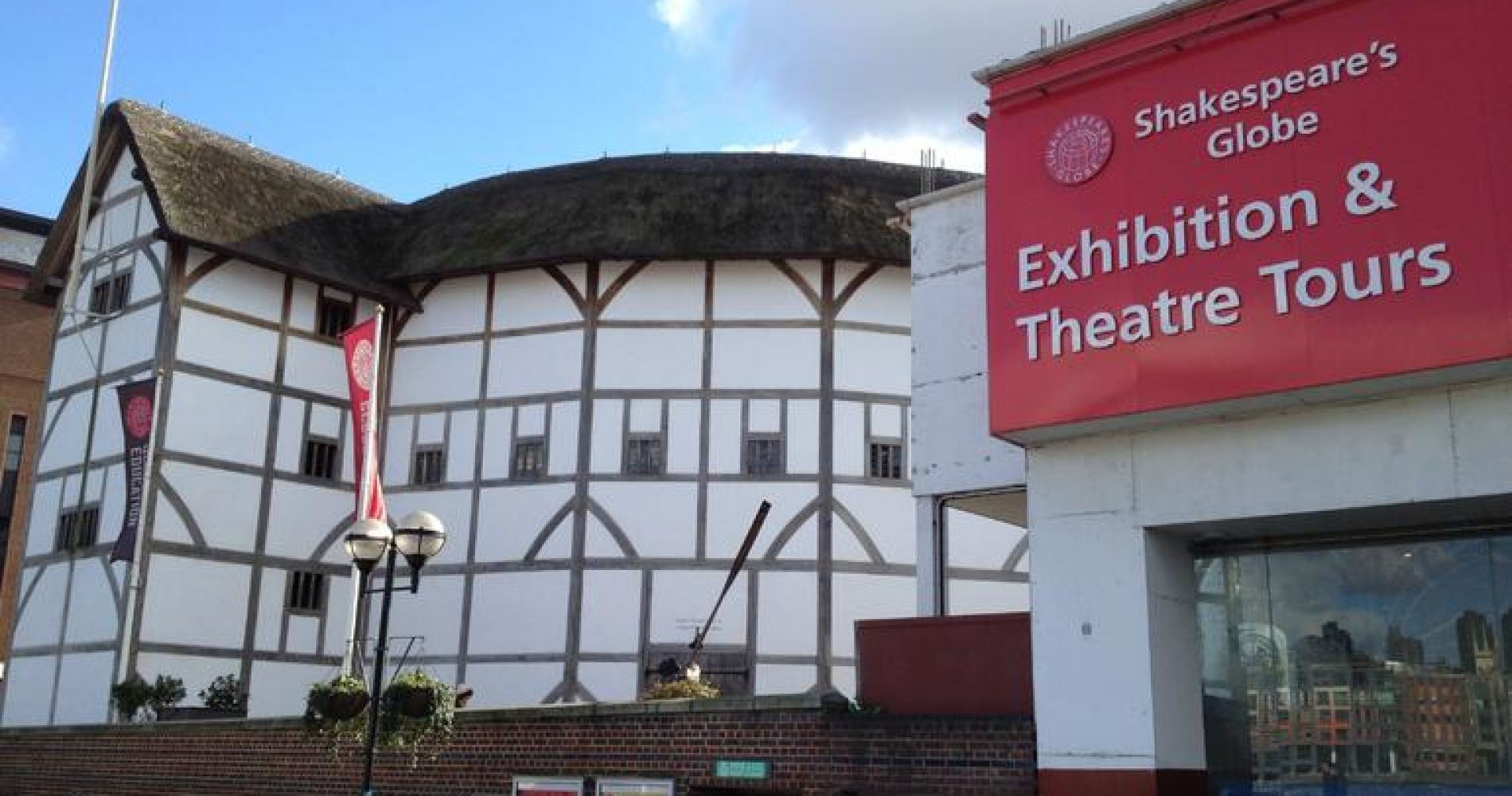 Shakespeare's Globe and Exhibition with Afternoon Tea Upgrade