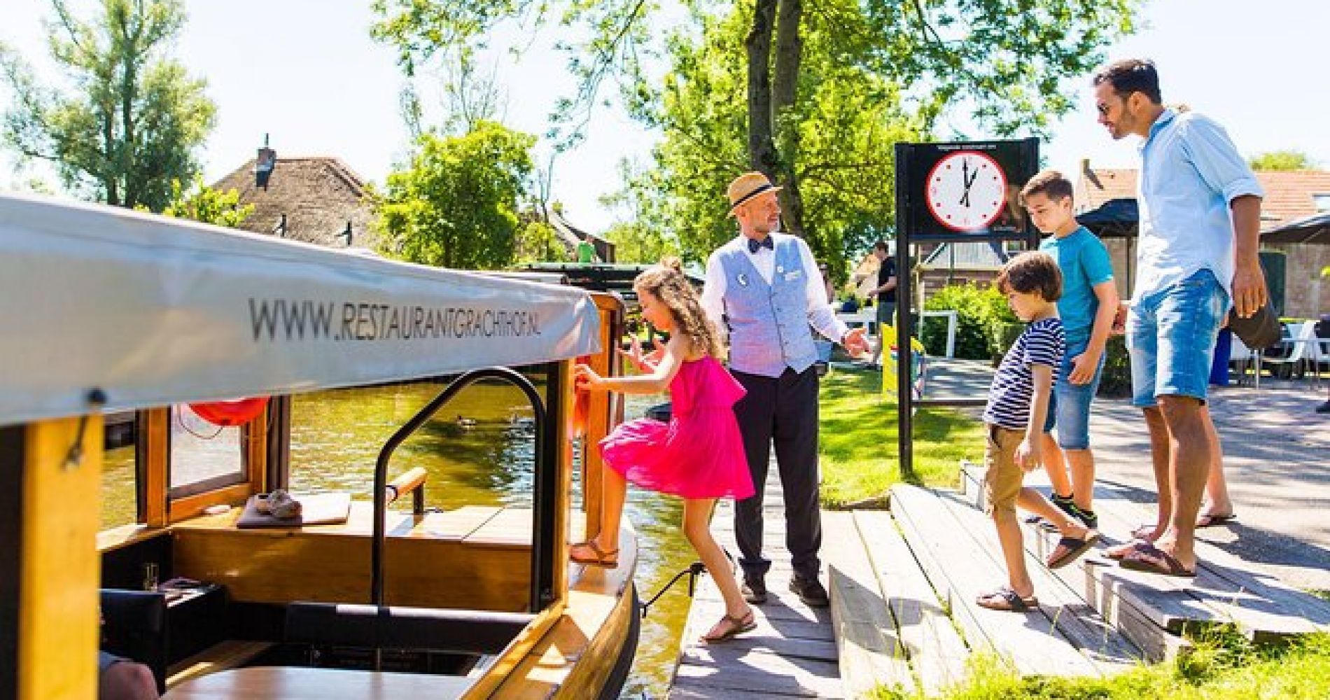 Giethoorn & Enclosing Dike Full-Day Tour from Amsterdam