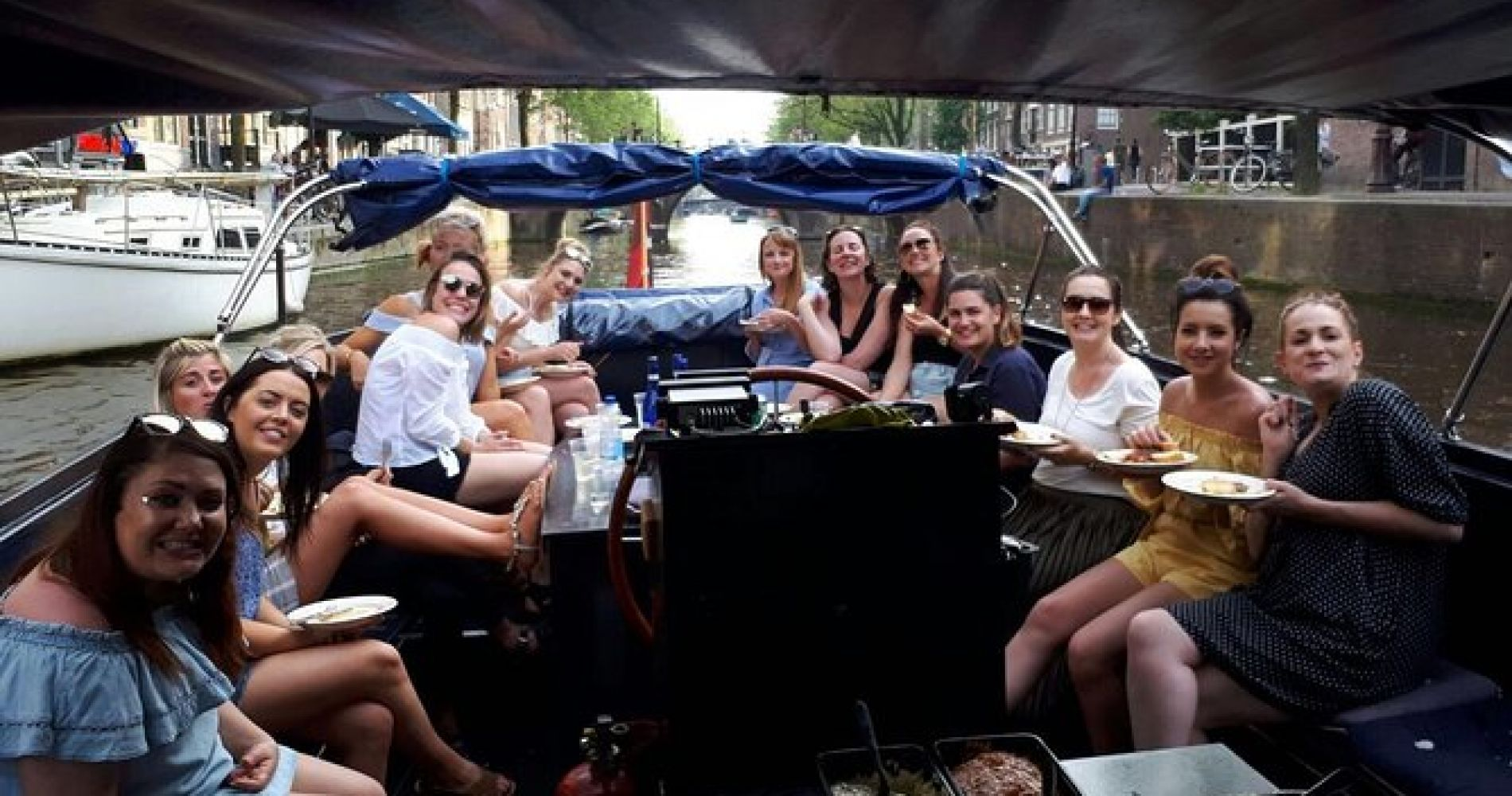 BBQ Boat Experience Amsterdam