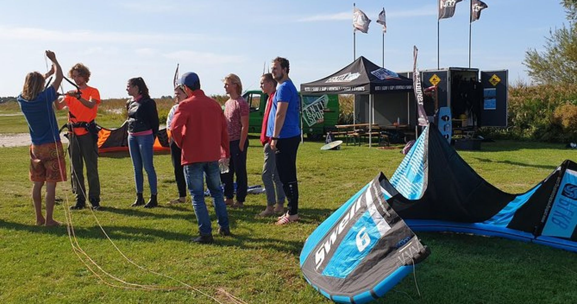 Introduction to kite surfing course