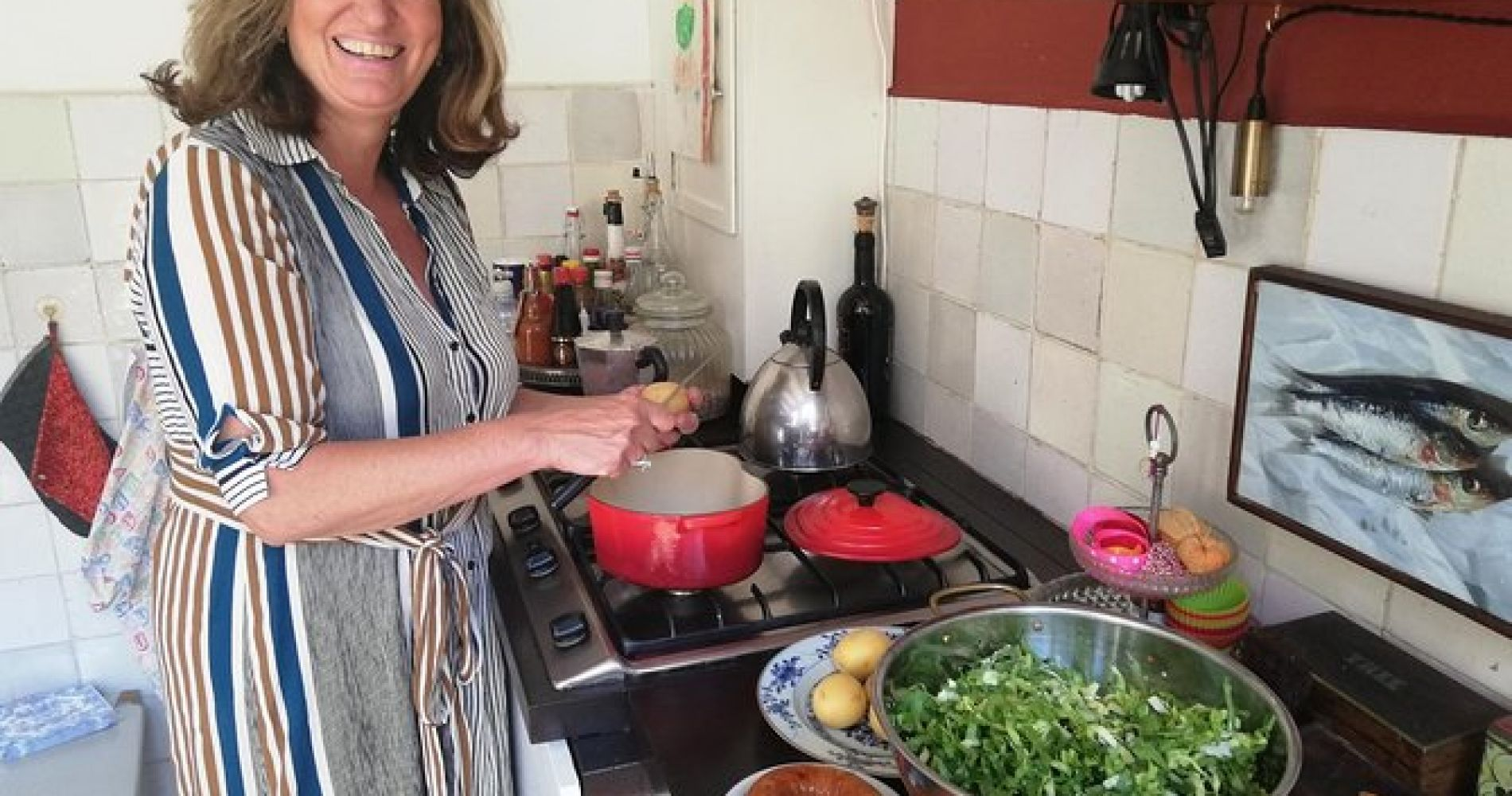 Authentic Dutch cooking class and dinner in the heart of Amsterdam with a local