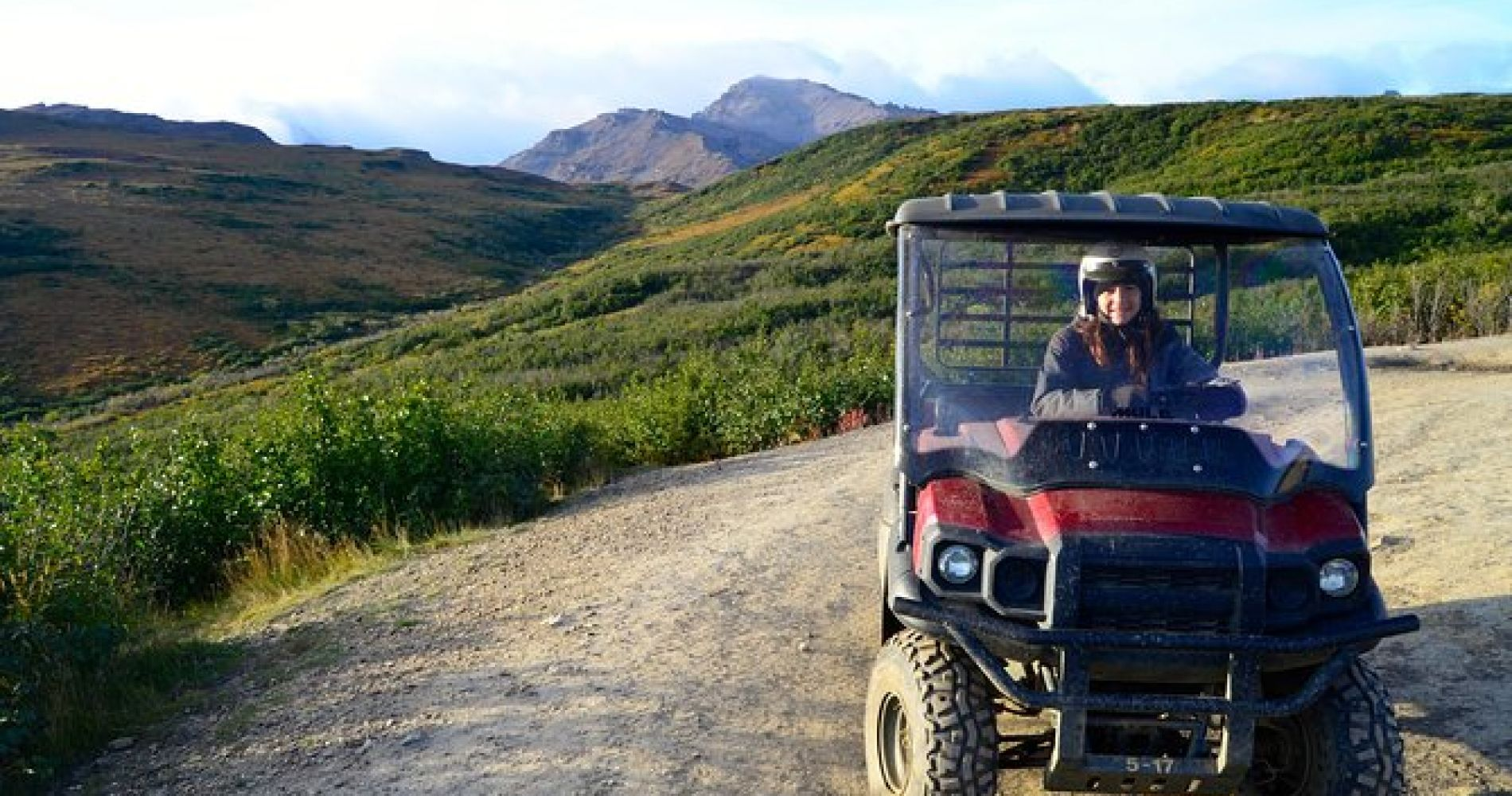 Alaskan Back Country Side by Side ATV Adventure with Meal