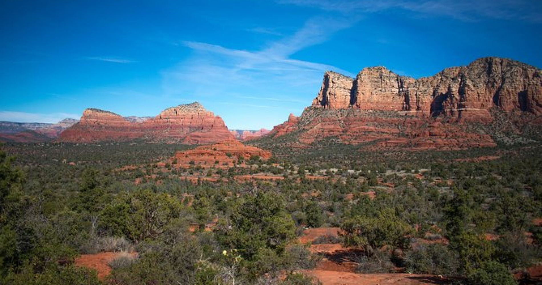 Sedona Red Rock Country and Native American Ruins from Phoenix