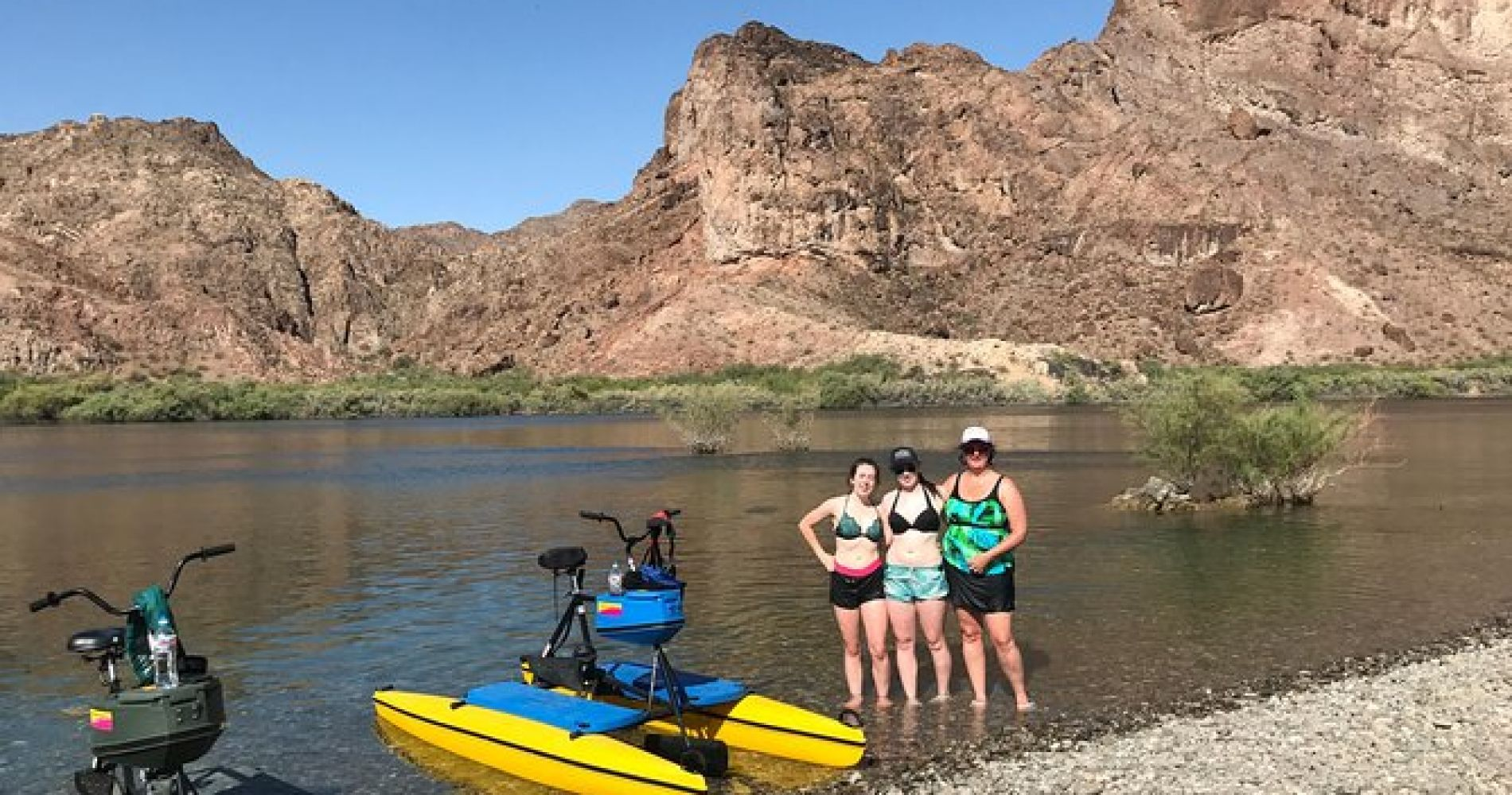Half-Day HydroBike Adventure on the Colorado River