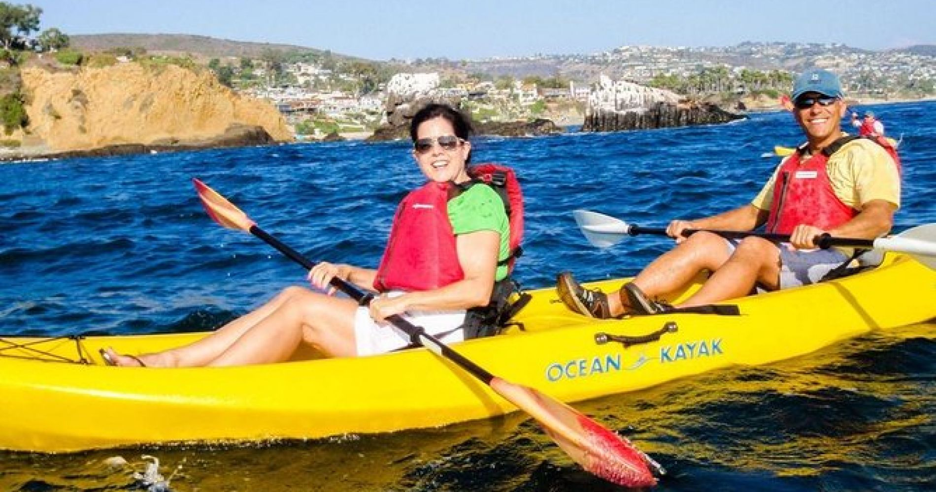 Laguna Beach Guided Kayak Tour with Sea Lion Viewing