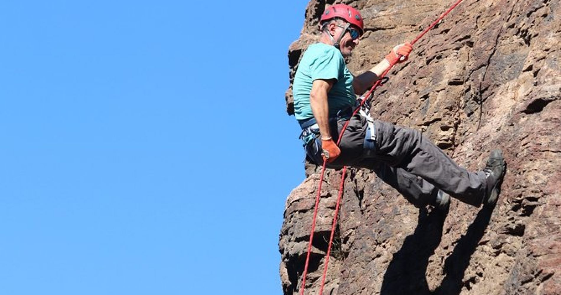 Half Day Rappel at Baja Mexico Mountains