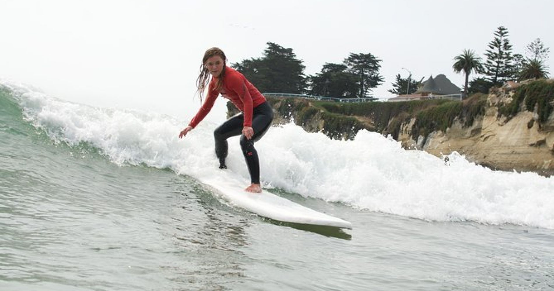 Beginner Surf Lesson in Santa Cruz