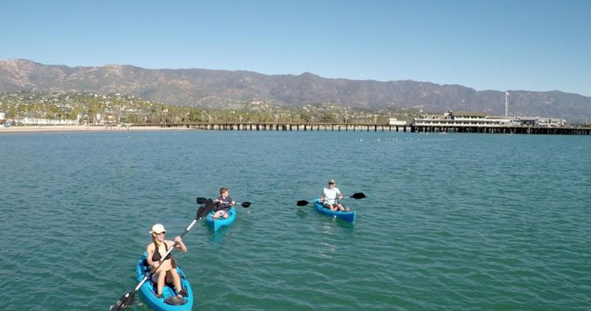 Santa Barbara Harbor Private Kayak Tour from West Beach