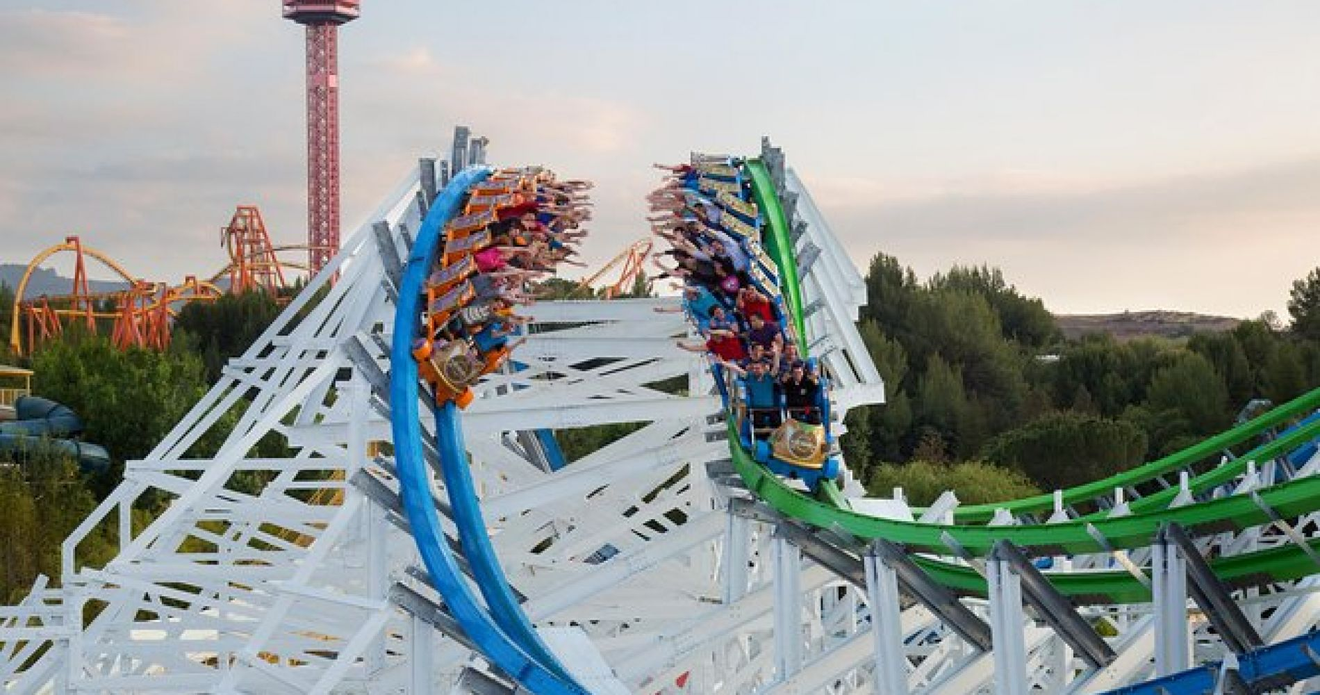 Skip the Line: Six Flags Magic Mountain Admission Tickets