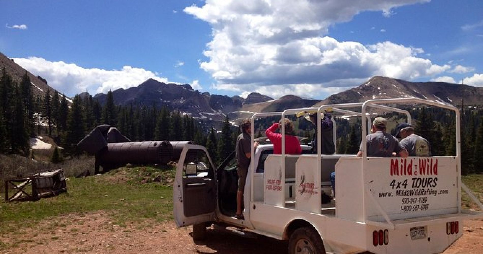La Plata Canyon Jeep Tours from Durango