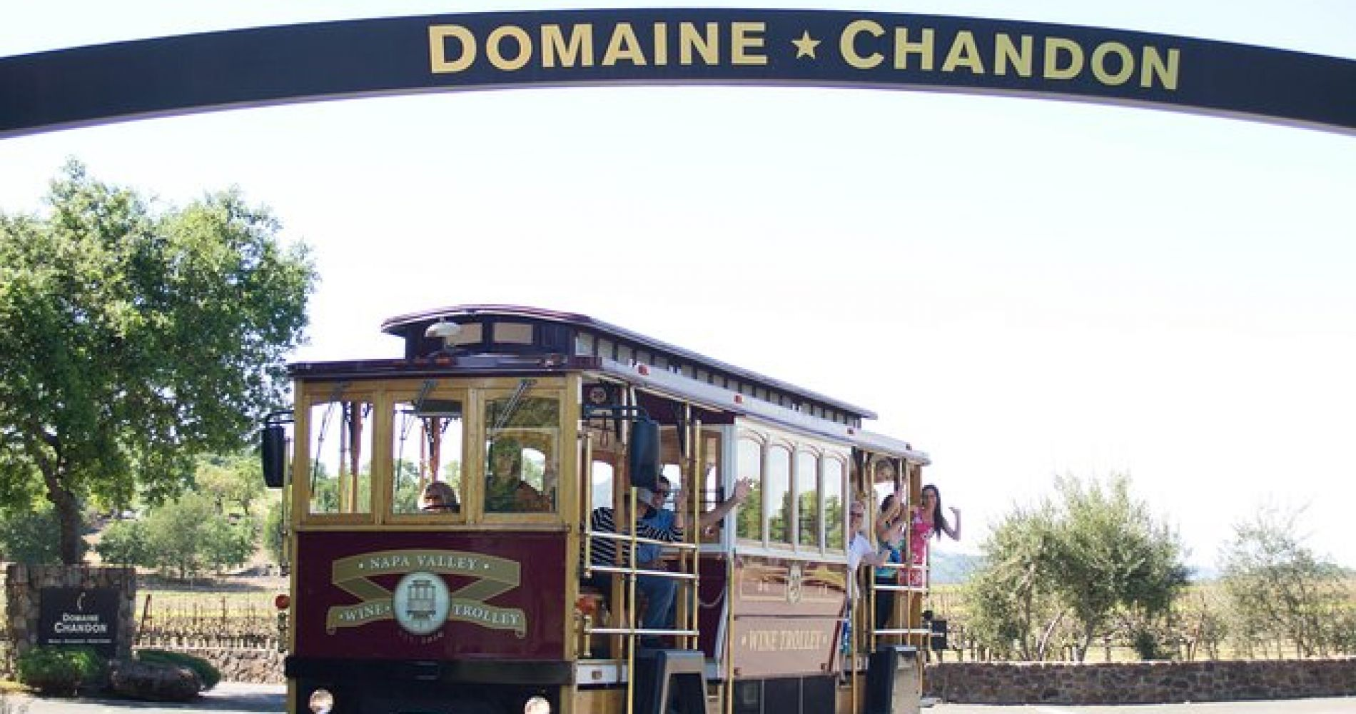 Napa Valley Wine Trolley Tour with Lunch