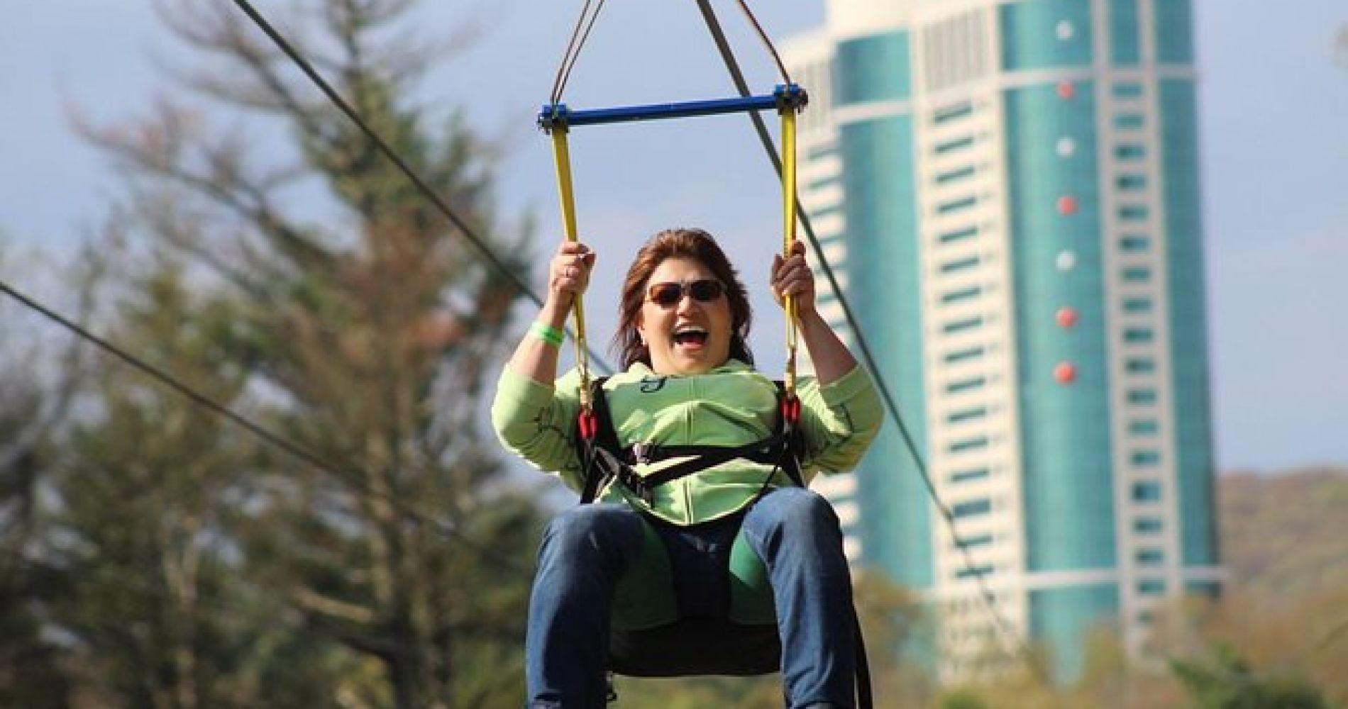HighFlyer Zipline at Foxwoods