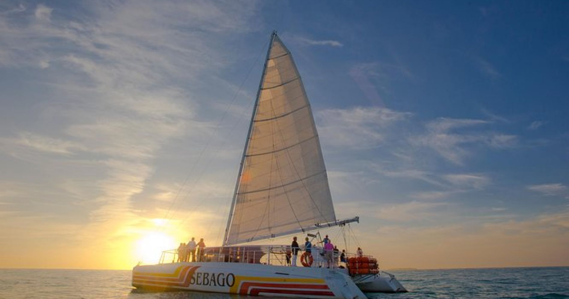 Key West Sunset Sail with Champagne, Hors D'oeuvres and Full Bar