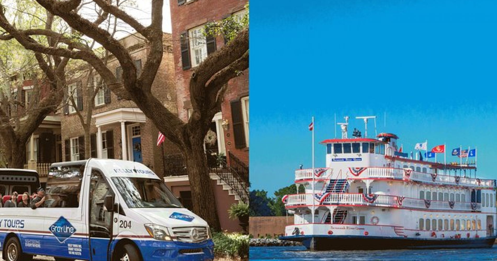 Savannah Land and Sea Combo Tour