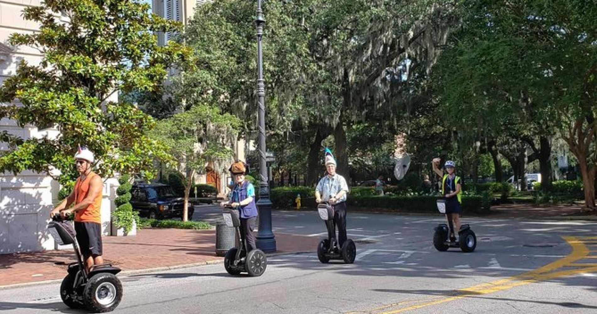 90 minute Segway History Tour